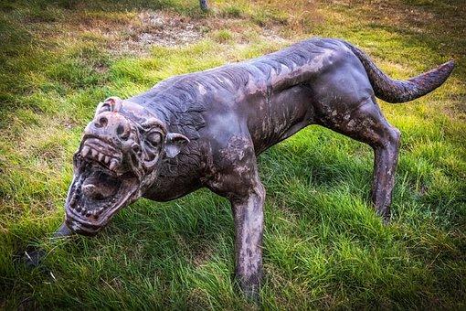 Monster, Wolf, Hills Golf Course, New Zealand