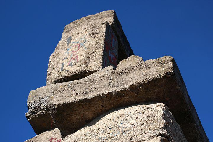 Block, Pyramid, Building, Sky, Jacob's Ladder