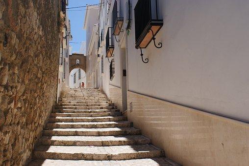 Street, Ladder, Staircase Street