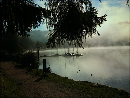 Black Forest, Lake, Titisee, Germany, Atmosphere