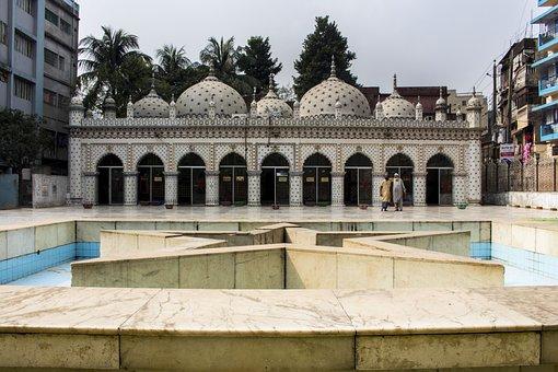 Dhaka, Bangladesh, Tara, Star, Mosque, Islam, Religion