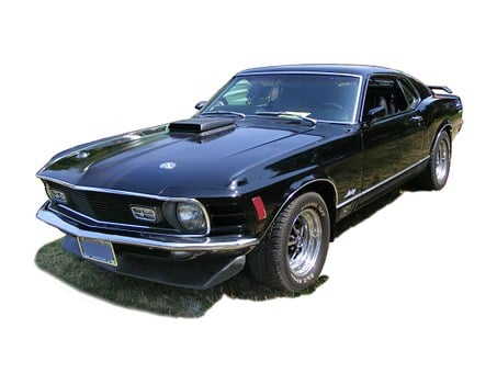Ford Mustang, Muscle Car, Ford, Mustang, 1970, Fastback