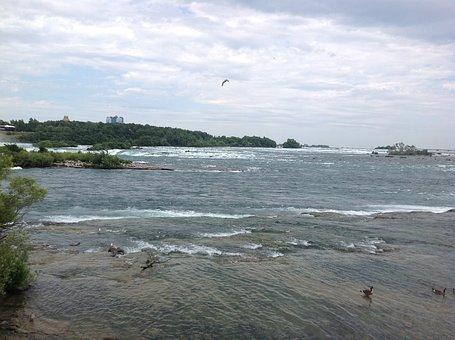 Water, Niagara Falls, River, Waterfall, Niagara
