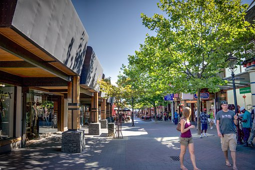 Downtown Queenstown, Queenstown, New Zealand, Outside