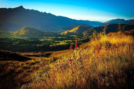 Coronet Peak, New Zealand, Queenstown, Landscape