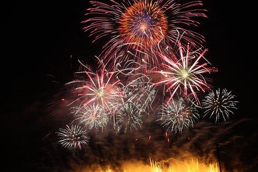 Shakadogawa Fireworks, Sukagawa, Starmine, Fukushima