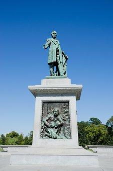 Usa, America, Nashville, Statue, Monument, Tennessee