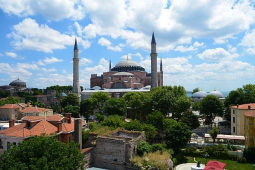Hagia Sofia, Sultanahmet, And From The Hotel