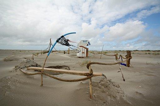Amrum, Beach, Nordfriesland, Beach Chair, Island