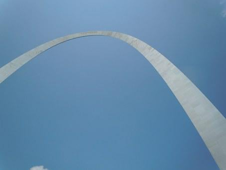 Arch, St Louis, Gateway, Architecture, Steel, Missouri