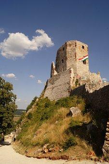 Castle, History, Castle Ruins, Hungary, Csesznek