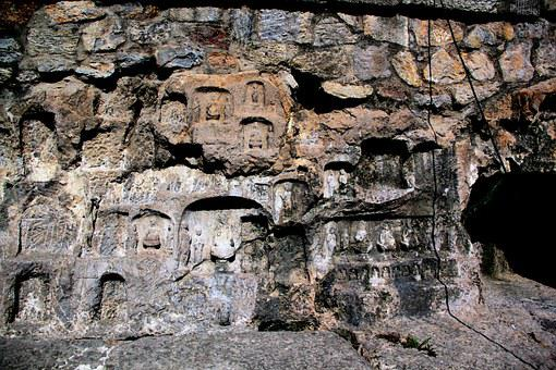 Grotto, Buddha Cave, Longmen Grottoes, Cave, Mountain