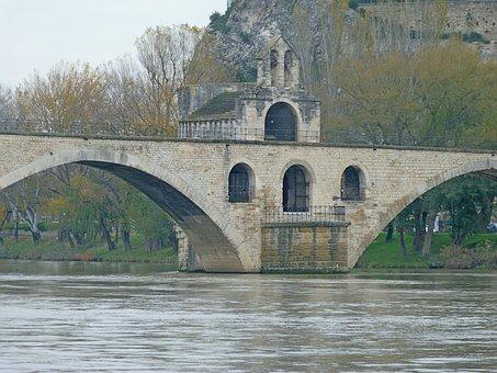 Bridge Of Avignon, Avignon, Monuments, Bridge, Chapel