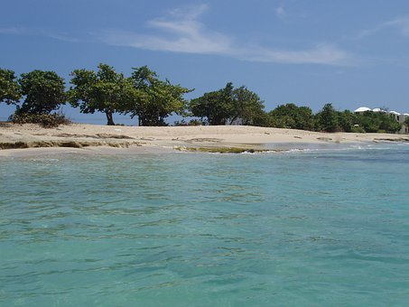 Caribbean, Sea, St Croix, Virgin Islands, Ocean, Coast