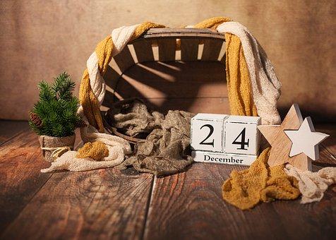 Christmas, Christmas Eve, 24, December, Poinsettia