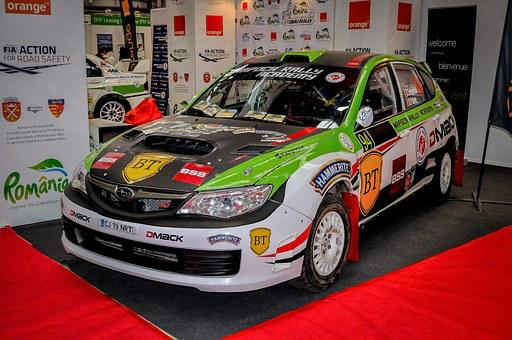 Racing Car, Subaru, Impreza, Tuning, Expo, Car, Speed