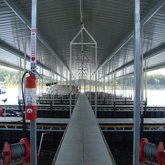 Dock, Lake, Truman, Missouri, Water, Fishing