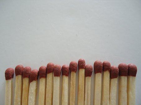 Phosphor, Phosphorus, Matchstick, Match, Fusee, Safety