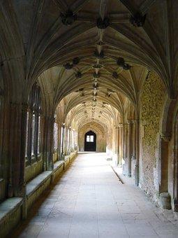 Lacock Abbey, Hallway, Harry Potter, England
