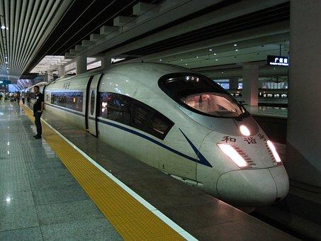 High Speed Train, Train, Hexie, Train Station