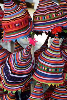Hats, Etnic, Budapest, Hugary, Hungarian, Traditional