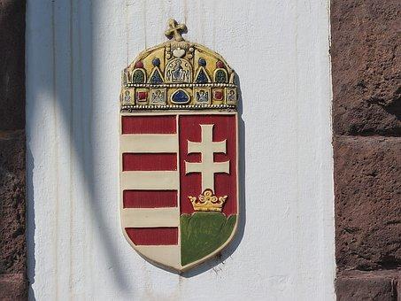 Coat Of Arms, Hungarian Royal Coat Of Arms, Hungary