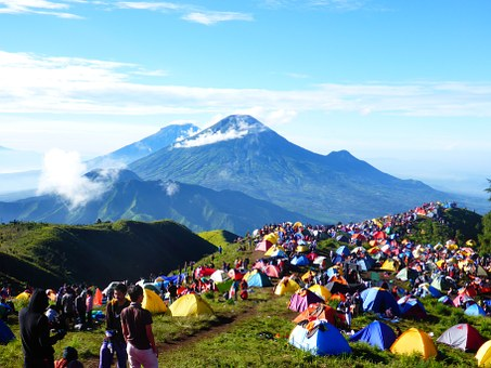 Indonesia, Mount, Nature, Landscape, Mountain, Java