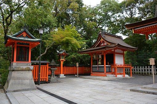 Shrine, Fushimi Inari Shrine, Kyoto, Japan