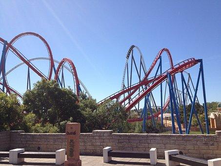 Roller Coaster, Pleasure, Fun, Theme Park, Leisure