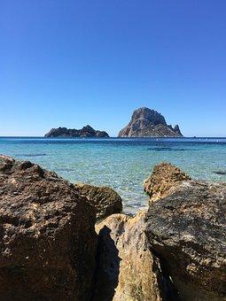Ibiza, Spain, Morra Rock, Travel, Mediterranean