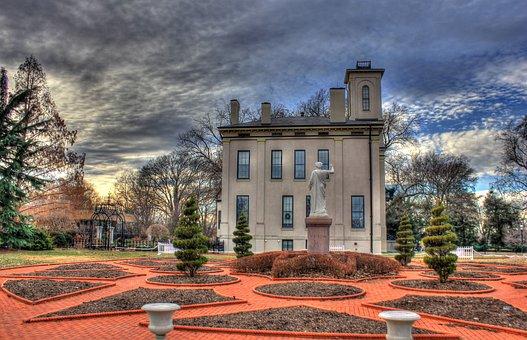 Botanical, Gardens, Building, Usa, Missouri, St Louis
