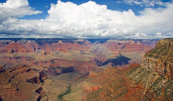 Grand, Canyon, Park, National Park, Rocks