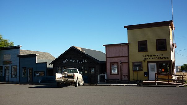 Ghost Town, Shaniko, Oregon, Historic, Abandoned, Empty
