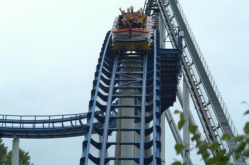 Roller Coaster, Attraction Attraktsion, Europe, Park