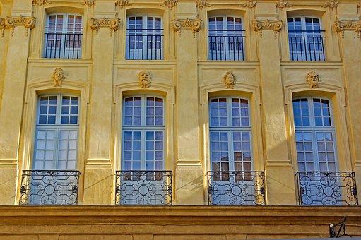France, Aix-en-provence, Provence, Building
