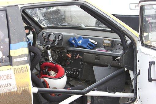Rally, Racing, Road, Auto, Car, Machine, Transport