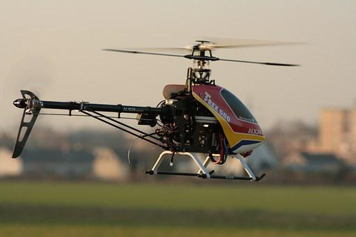 Rc Model Making, Helicopter, Model