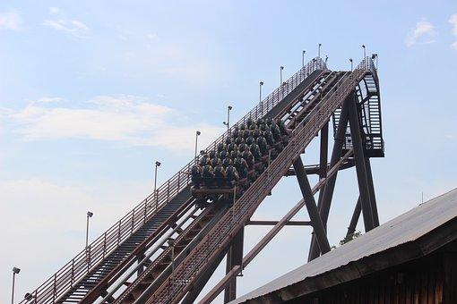 Roller Coaster, Ride, Amusement Part, Amusement, Park