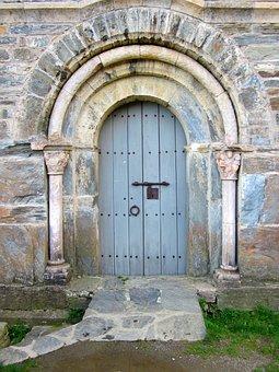 Door, Serrabone, Priory, Monastery, Romanesque