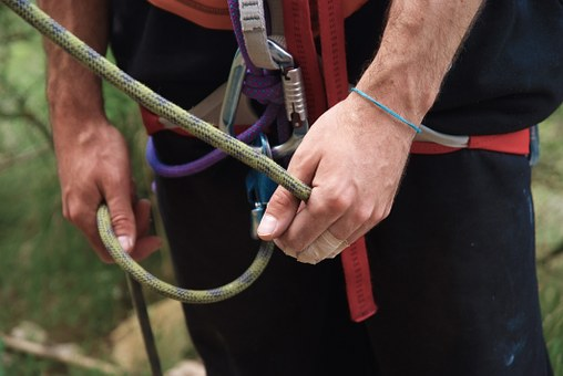Escalation, Scalar, Grigri, Ensure, Hands, Rope