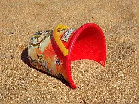 Bucket, Beach, Sand, Sandalwood Bucket, Sand Toys, Toys