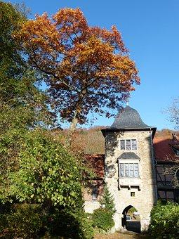 Castle, Tower, Schaumburg, Lip, North Rhine Westphalia