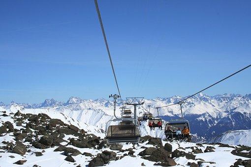 Winter, Snow, Mountains, Alpine, Switzerland, Landscape