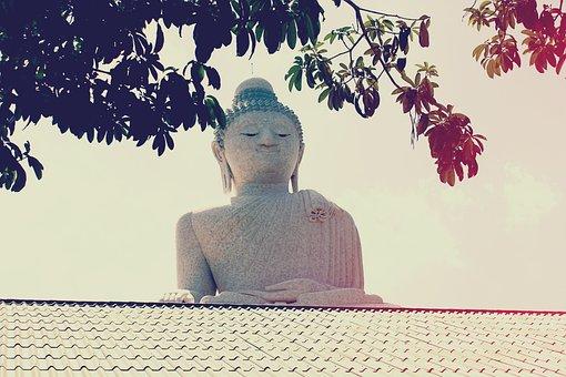 Big Buddha, Phuket, Thailand, Temple, Buddhism, Buddha