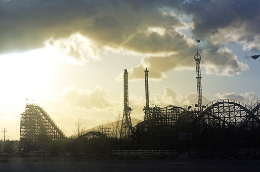 Roller Coaster, Theme Park, Amusement, Park, Ride