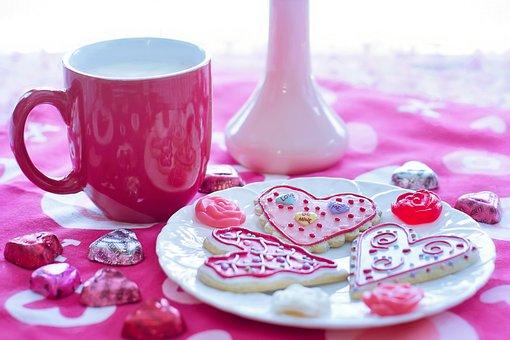 Valentine's Day, Valentine Cookies, Holiday, Love