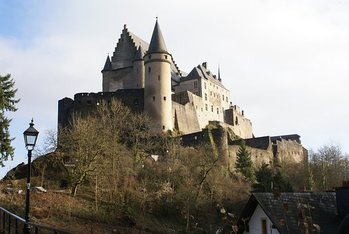 Luxembourg, Vianden, Castle