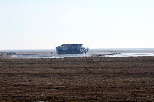 Wadden Sea, North Sea, Nordfriesland, Watts