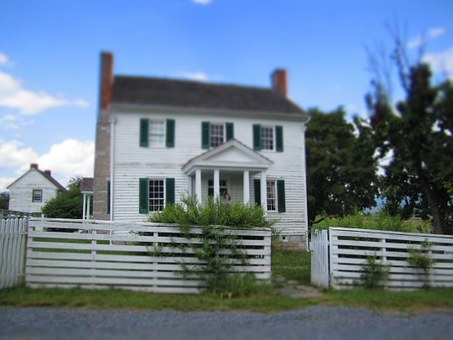 House, White, Home, Architecture, Building, Landmark