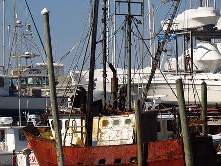 Boat Yard, Winter, Boat Storage, Winter Storage, Ship